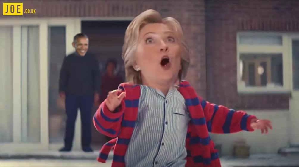Il Natale 2016 versione parodia della Casa Bianca