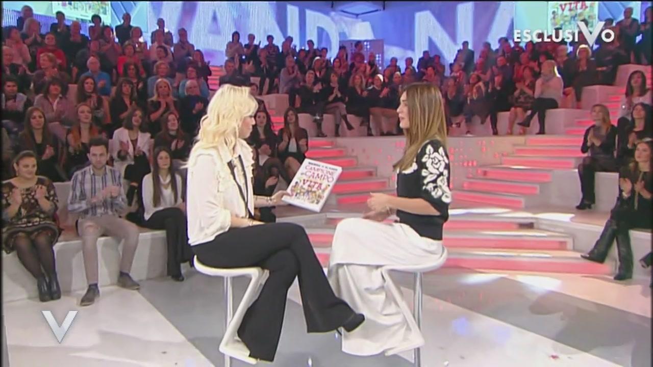 """Wanda Nara: il nuovo libro """"Campioni in campo e nella vita"""""""