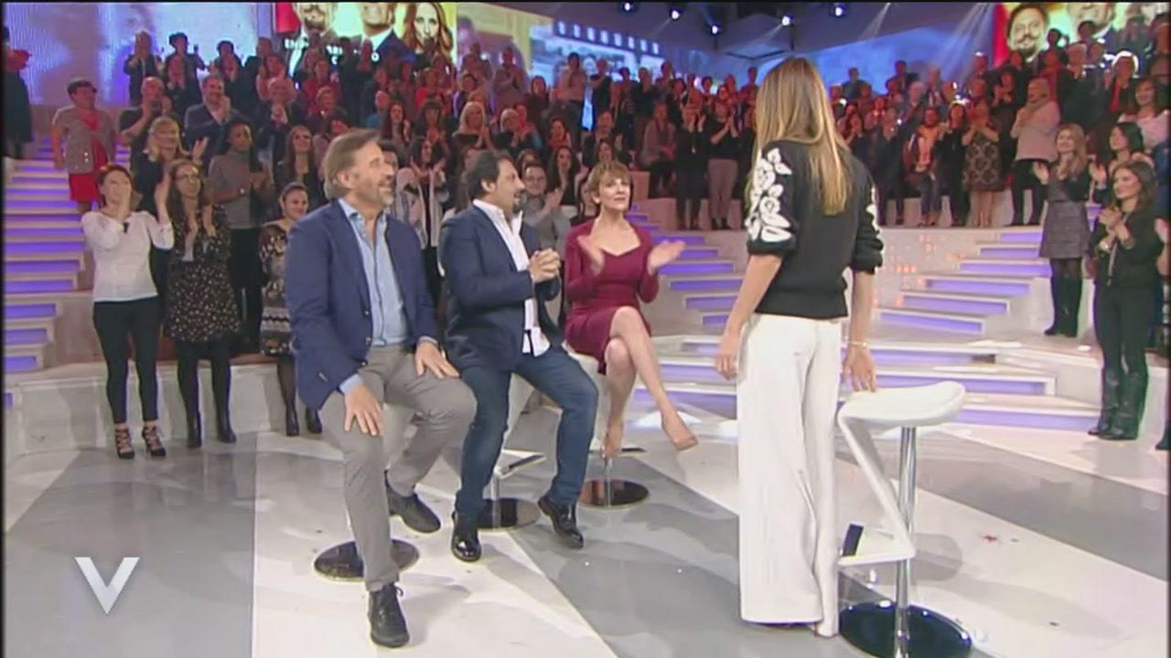 Christian De Sica, Enrico Brignano e Lucia Ocone