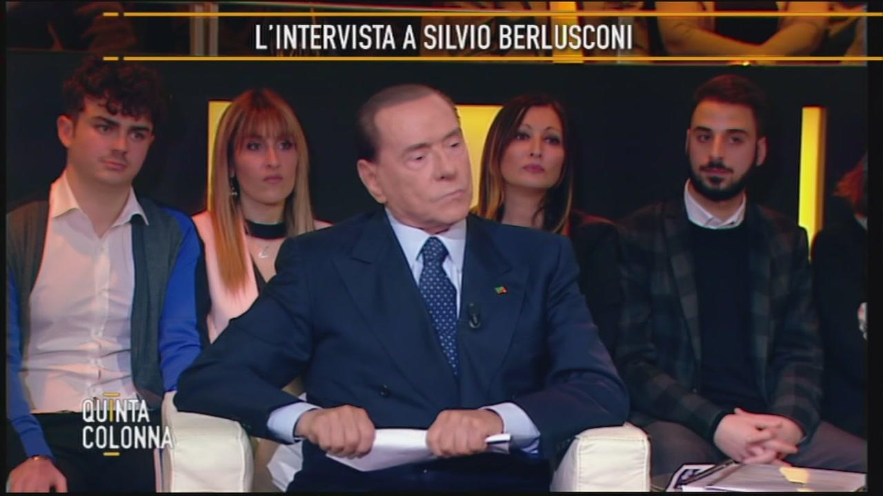 Silvio Berlusconi: la sicurezza