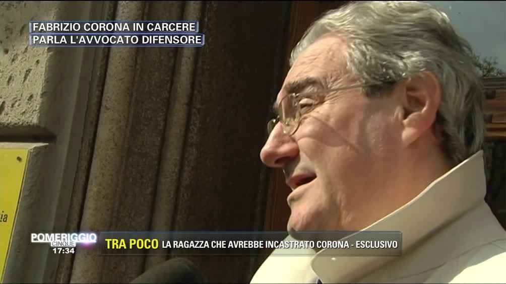 Fabrizio Corona in carcere