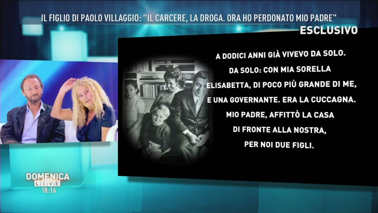 Il tunnel del figlio di Paolo Villaggio
