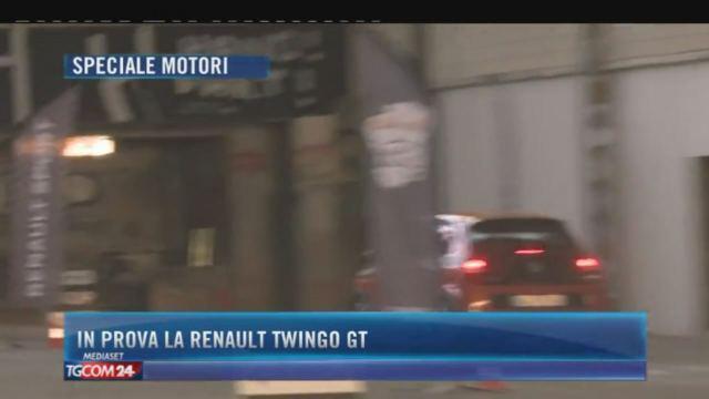 In prova la Renault Twingo GT