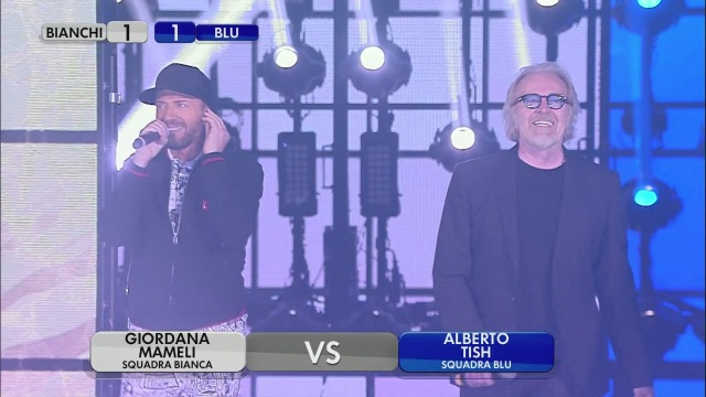 Raf, Giordana e Mameli vs U. Tozzi, Alberto e Tish – Battle di canto – Quarta puntata Serale – Seconda manche