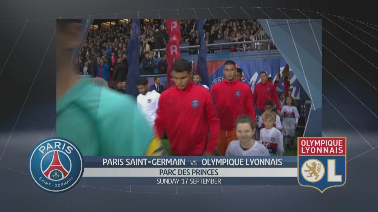 Paris SG-Olympique Lyonnais 2-0