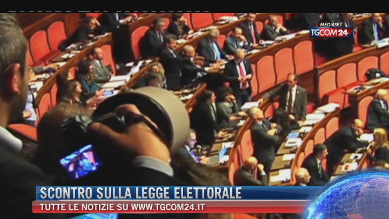 Legge elettorale in Aula dal 5 giugno. Tensione Pd-Ap