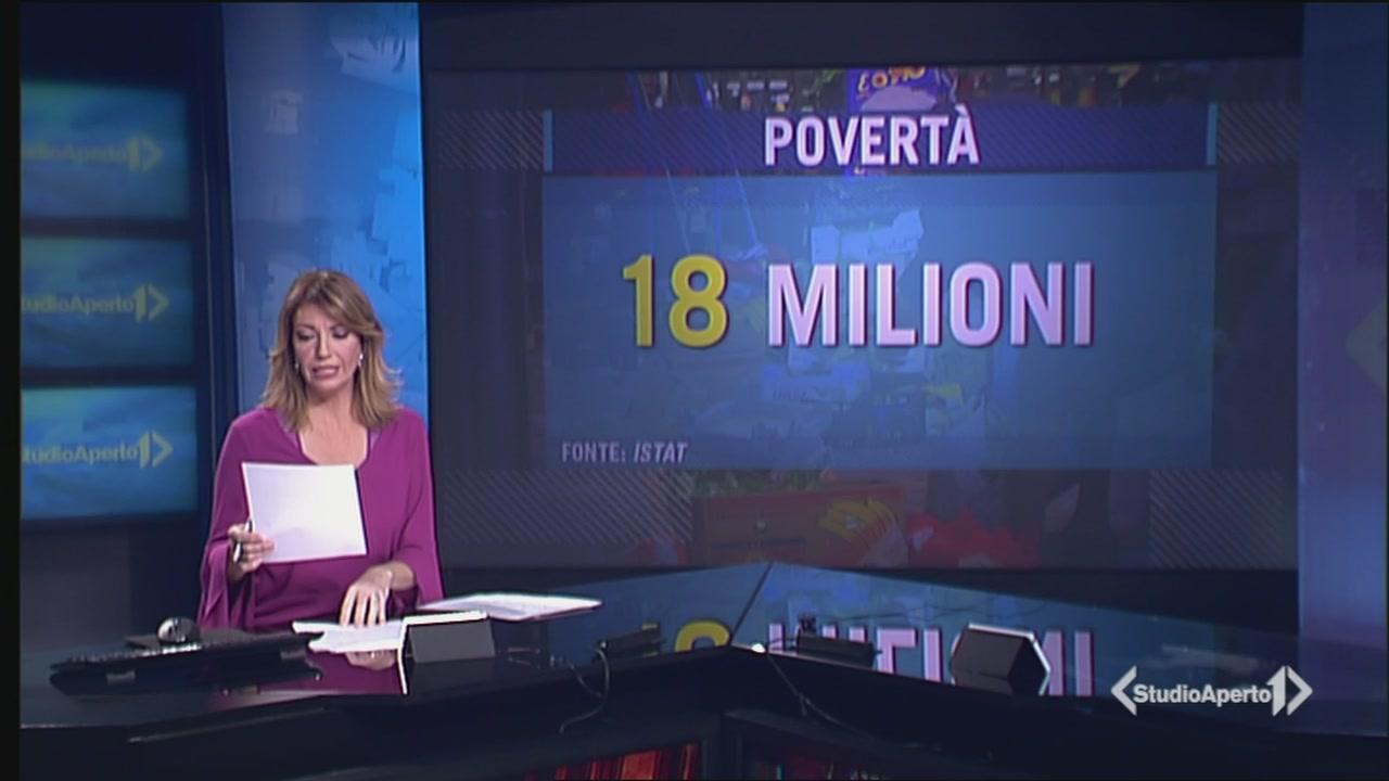 18 milioni di poveri