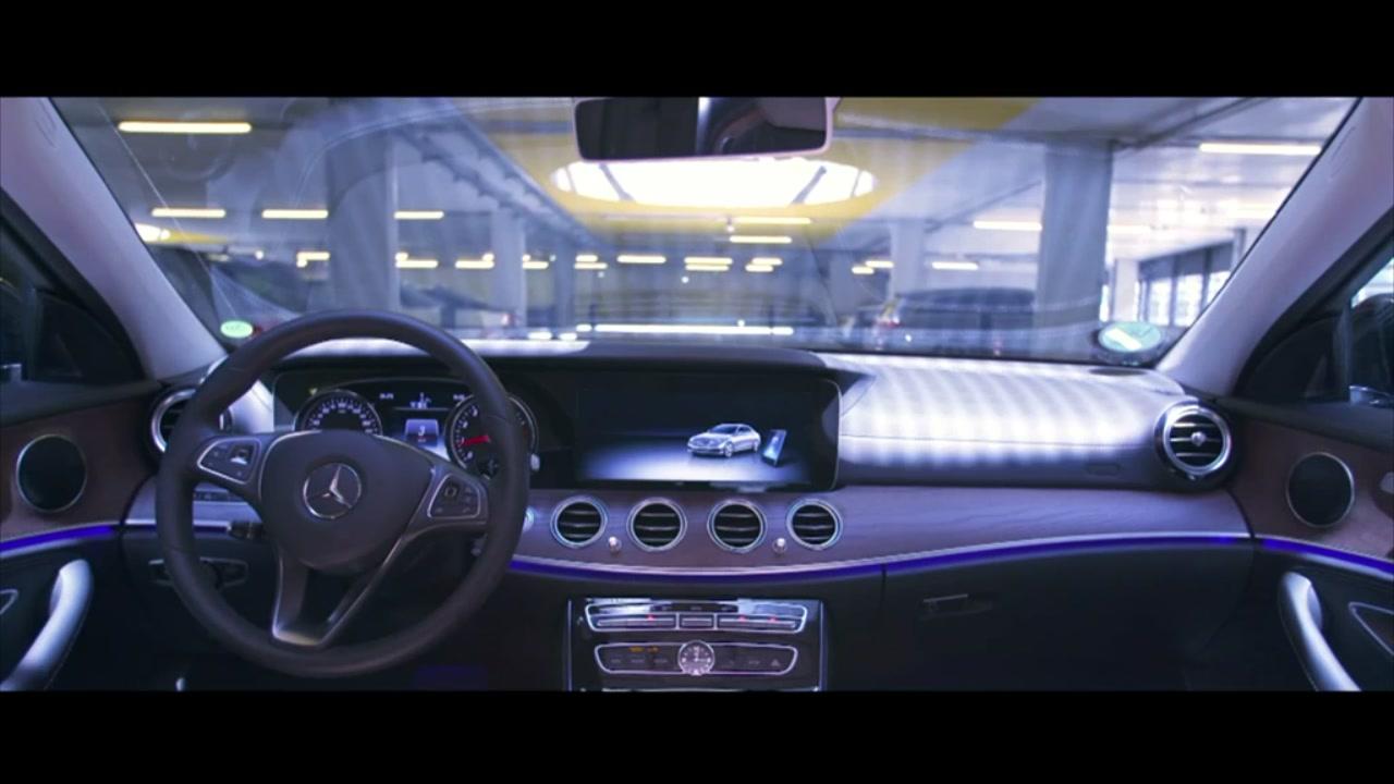 Il parcheggio automatico di Bosch e Daimler