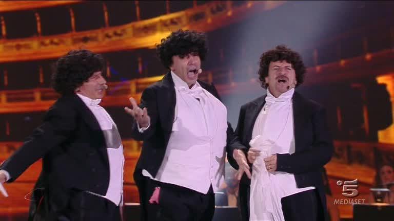 I tre tenori: Aldo, Giovanni e Giacomo