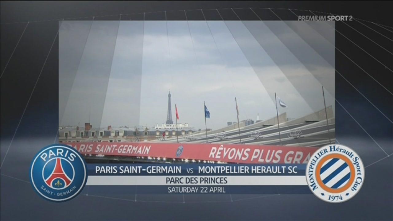 Paris Saint Germain-Montpellier Herault SC 2-0