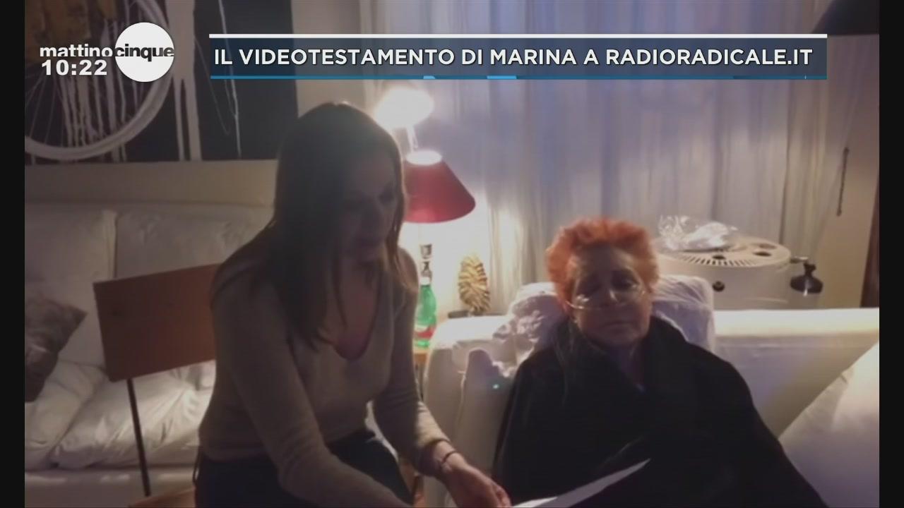 Il videotestamento integrale di Marina Ripa di Meana