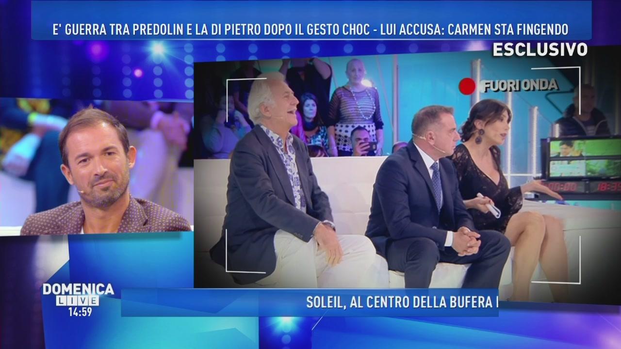 Guerra tra Predolin e Carmen Di Pietro