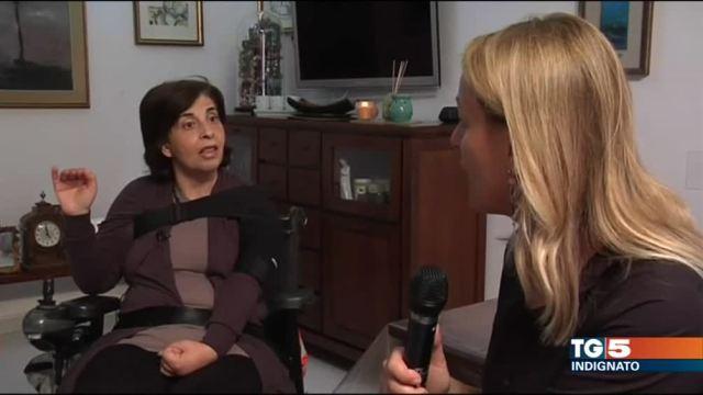 La denuncia di una malata di sclerosi multipla