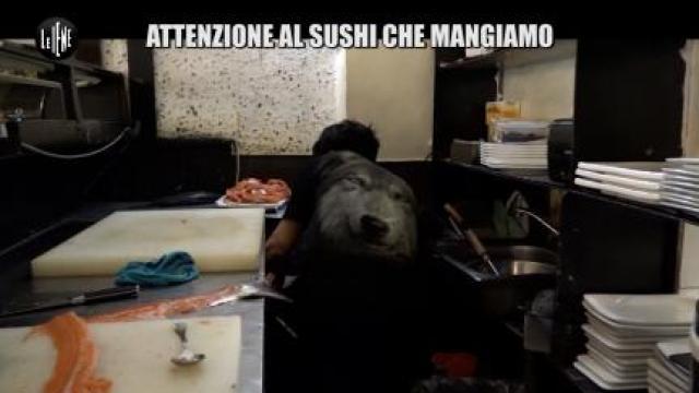 """<H1>90 - """"Le Iene"""": """"Attenzione al sushi che mangiamo"""" (clicca su questa foto e le altre successive per leggere le notizie)</H1>"""