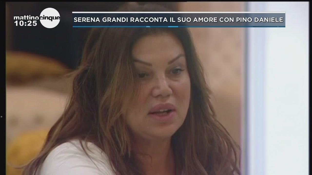 GF: Serena Grandi confessa un flirt