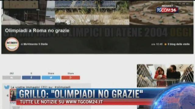 Grillo: 'Olimpiadi no grazie'