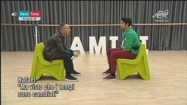 Giuliano Peparini incontra Rafael