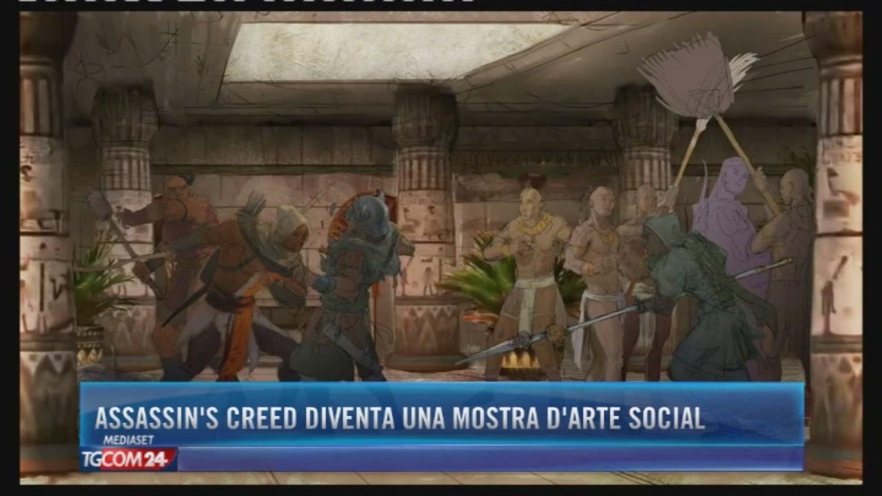 Assassin's Creed diventa una mostra d'arte social