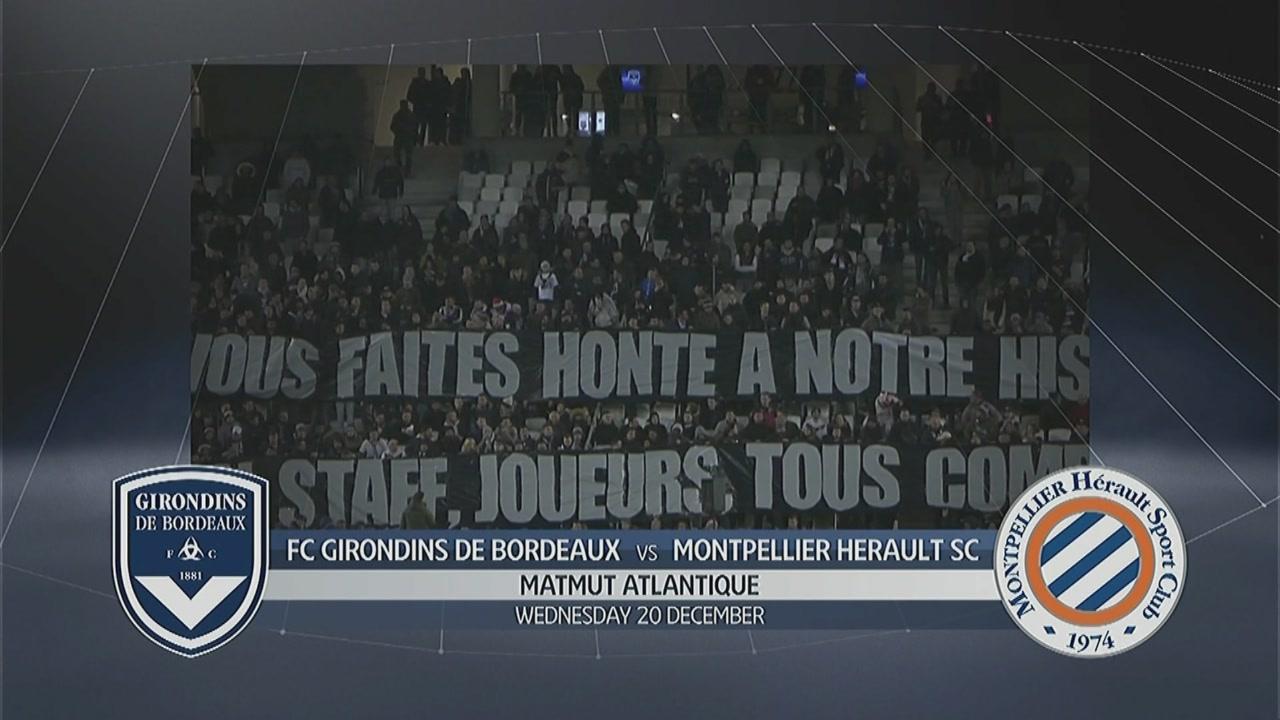 Bordeaux - Montpellier 0-2