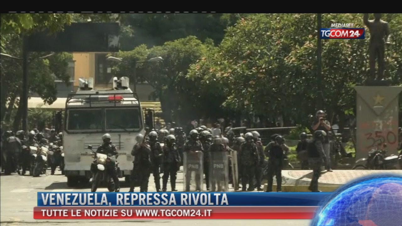 Venezuela, Maduro stronca rivolta militare, tre morti e arresti