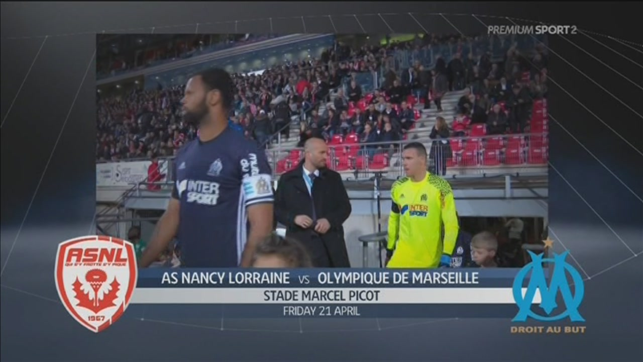 AS Nancy Lorraine-Olympique De Marseille 0-0