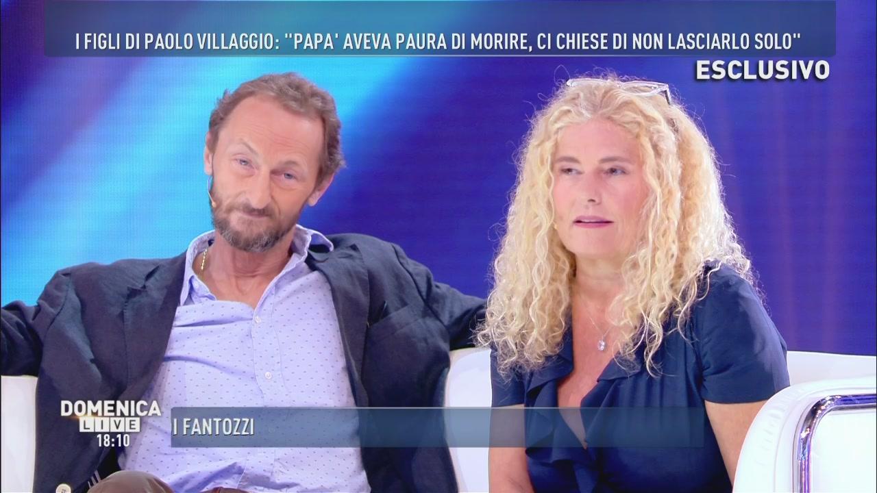 Paolo Villaggio: parlano i figli