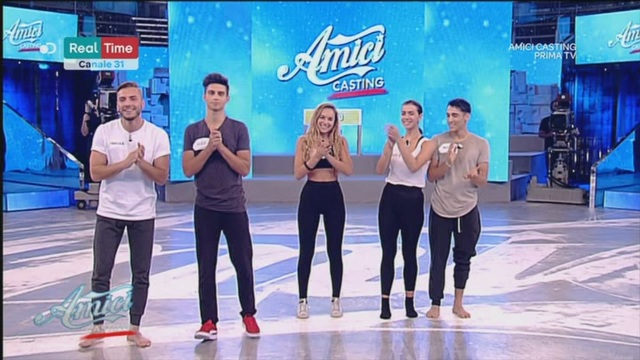 Terzo step: Marco – Emma – Alex – Miguel