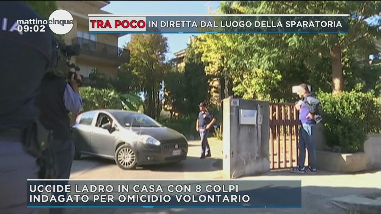 Latina: Avvocato uccide un ladro
