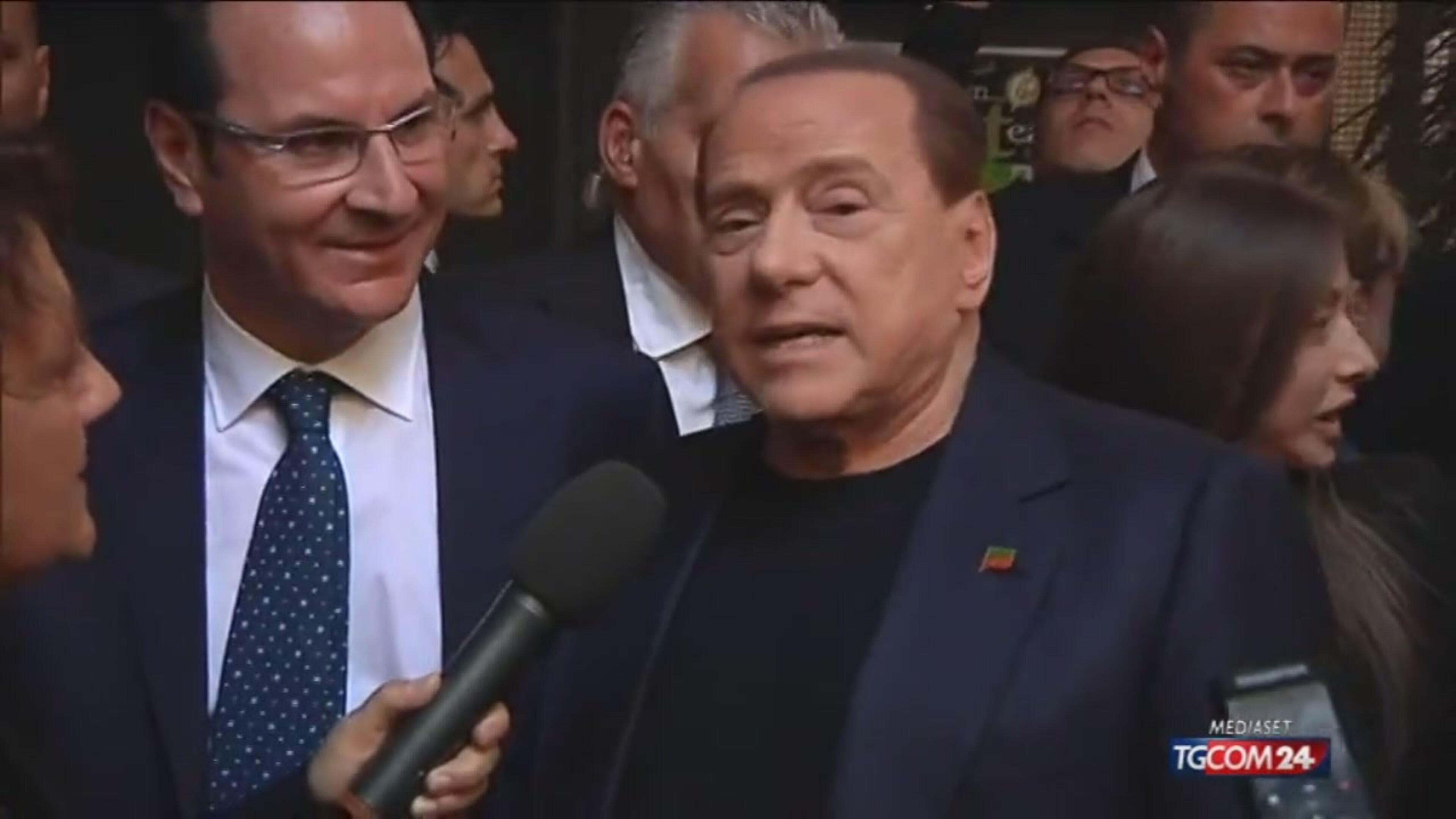 Regionali: Berlusconi a Caserta