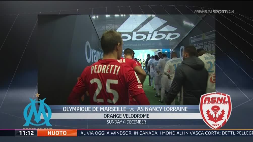 Olympique Marsiglia-Nancy Lorraine 3-0