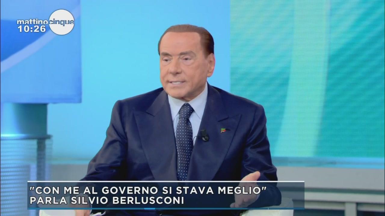 Silvio Berlusconi: la rvoluzione del reddito di dignità
