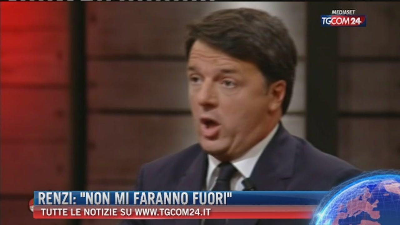 """Pd, Renzi: """"Da mesi cercano di mettermi fuori, ma non ce la faranno"""""""