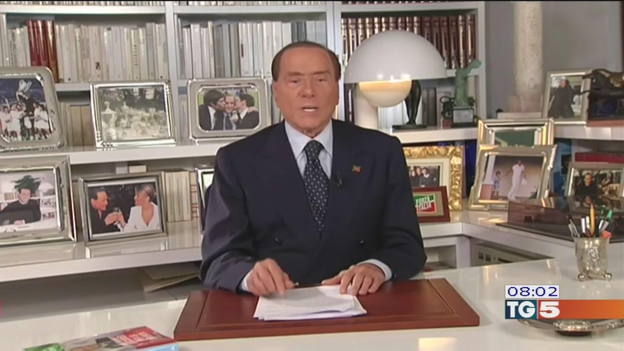 Berlusconi: meno tasse e vaste privatizzazioni