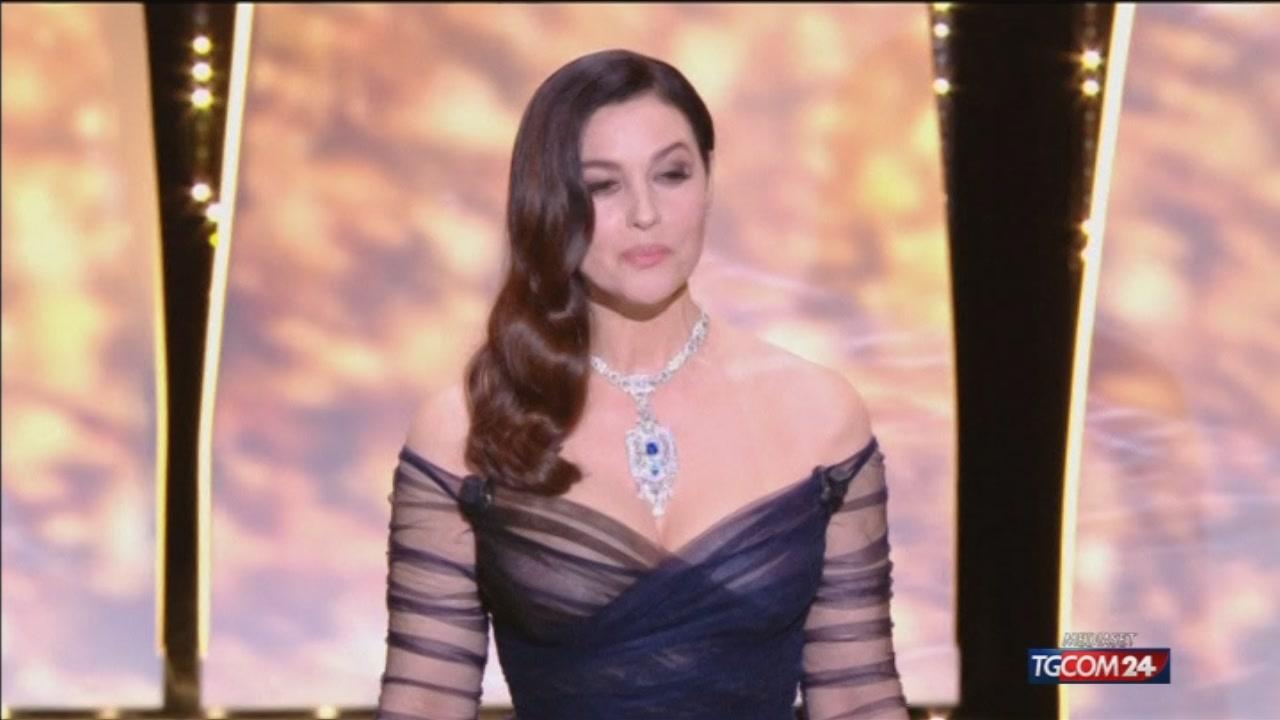 Cannes, Bellucci subito protagonista