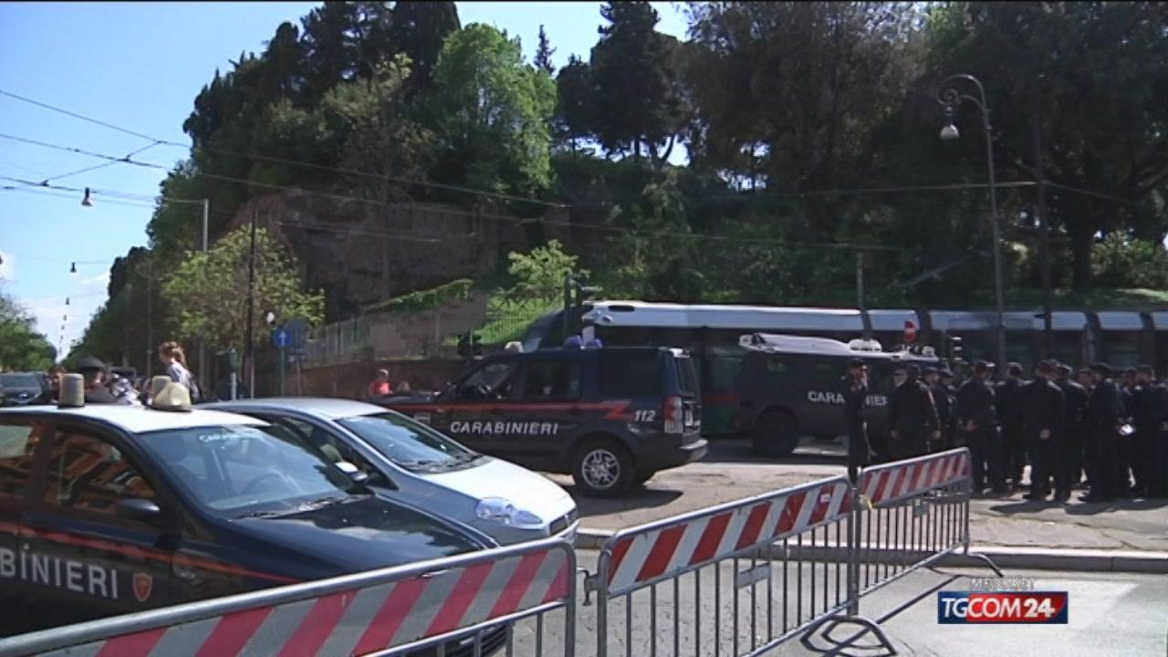 Allerta terrorismo, Roma blindata