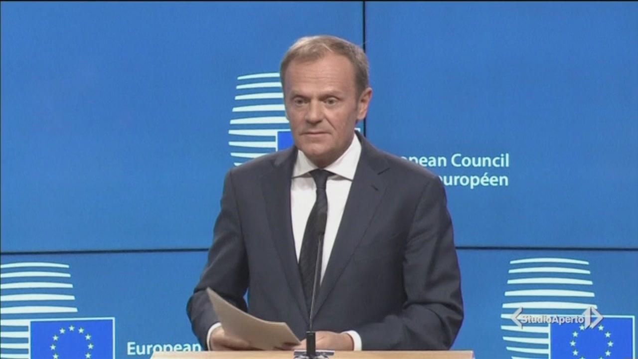 Lettera alla UE, via alla Brexit