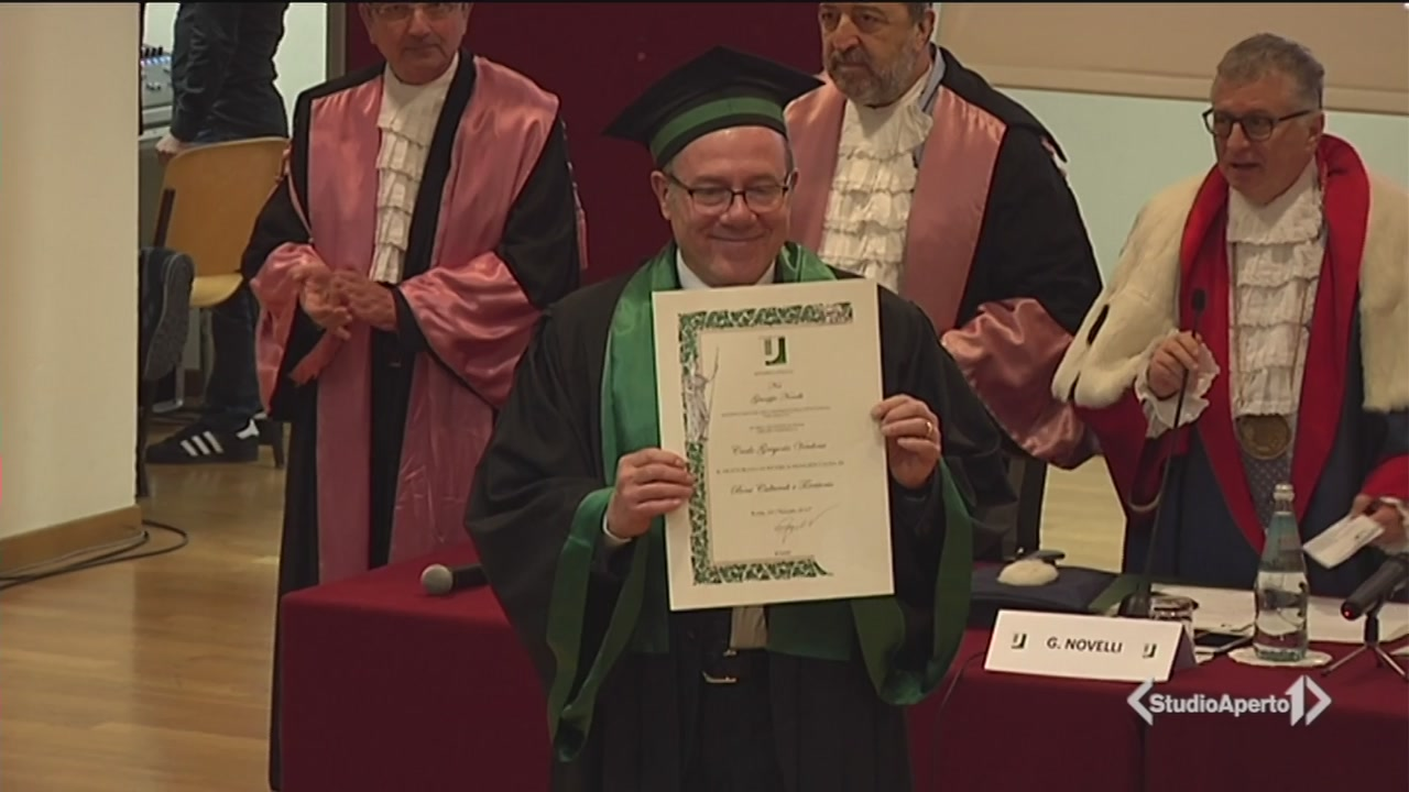 Dottorato honoris causa per Carlo Verdone