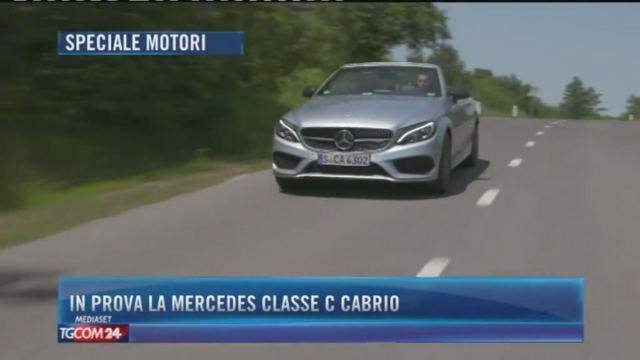 In prova la Mercedes Classe C cabrio