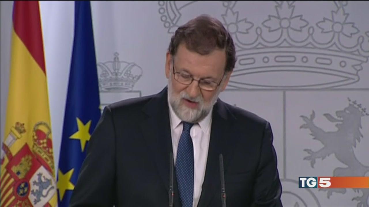 "La rabbia catalana: ""Rajoy come Franco"""