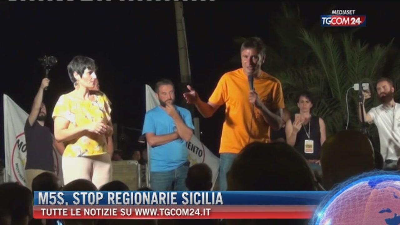 Sicilia, il tribunale di Palermo conferma la sospensione delle Regionarie M5s