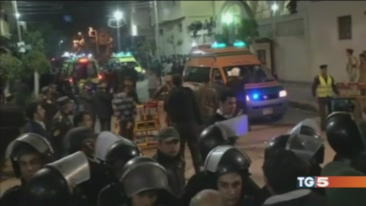 Egitto blindato dopo le bombe nelle chiese