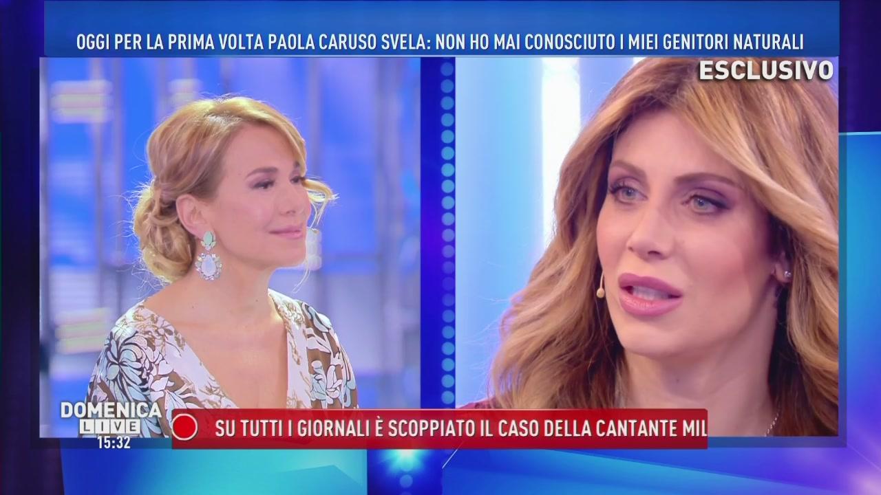 La rivelazione choc di Paola Caruso