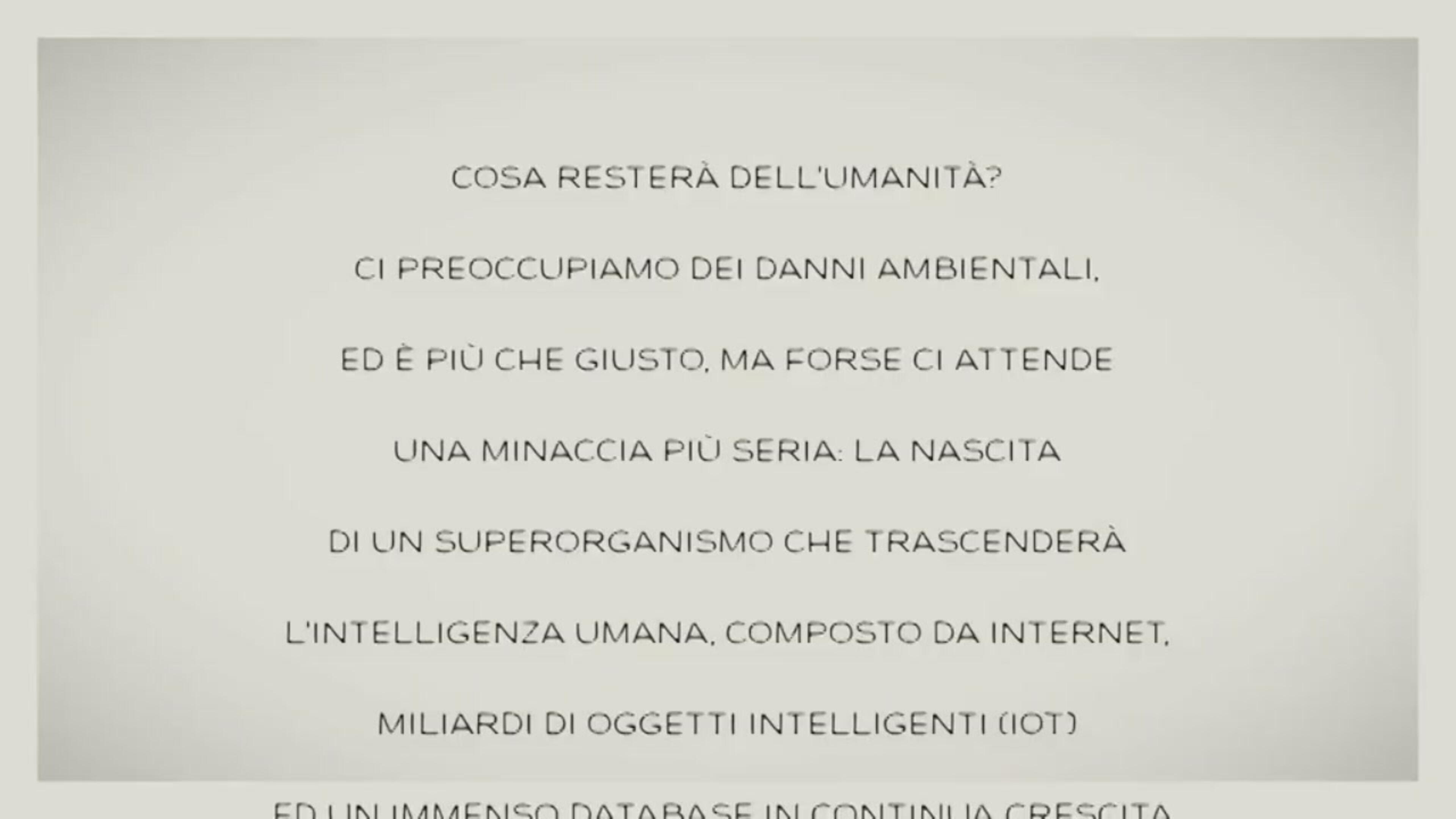 Singularity, l'ultimo filmato di Gianroberto Casaleggio