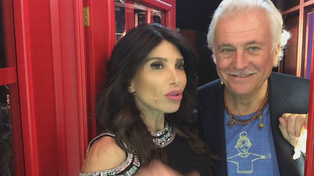 La #cabinarossa di… Carmen Di Pietro e Marco Predolin