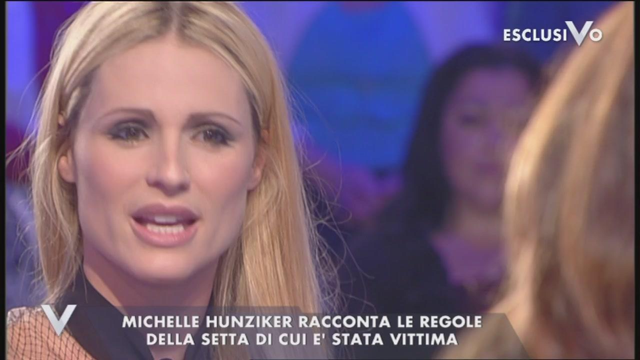 Michelle Hunziker e la maga Clelia