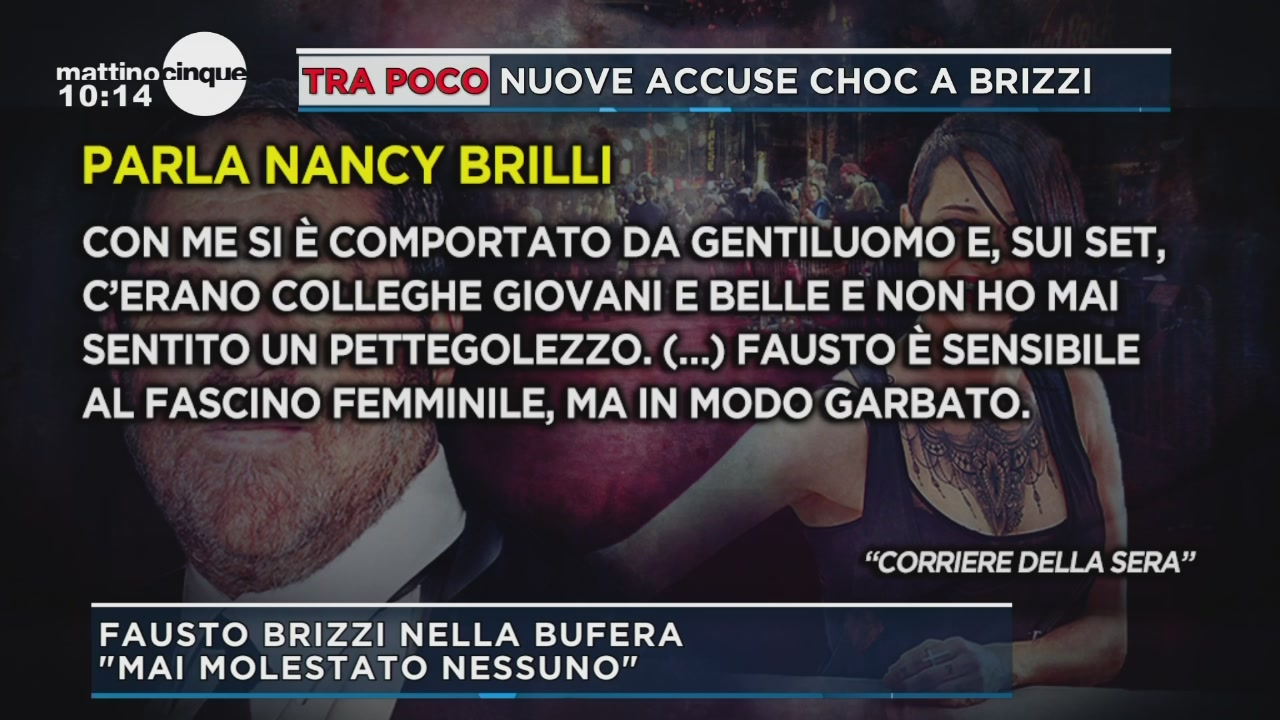 Il sostegno di Nancy Brilli