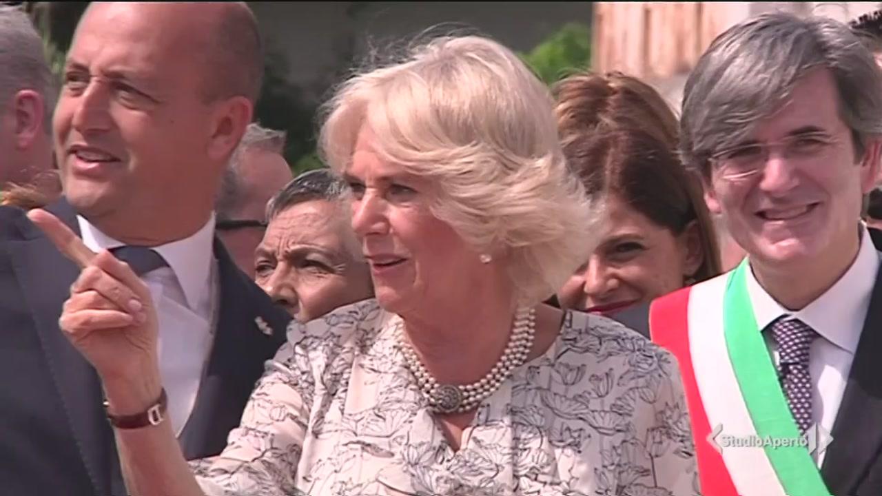 Carlo e Camilla, viaggio in Italia