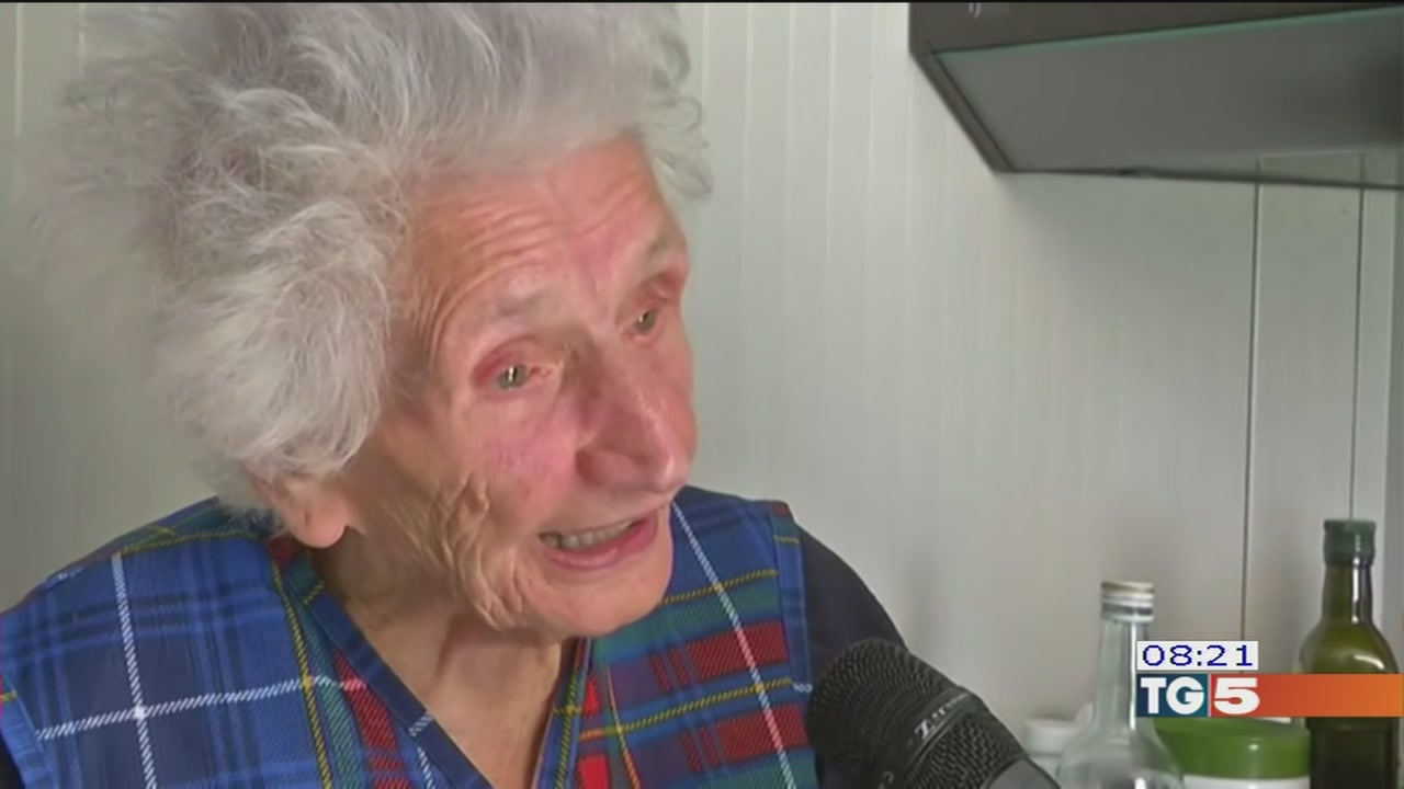 Terremoto, anziana rischia lo sfratto
