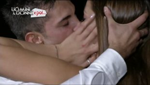 Anna e Emanuele: il primo bacio