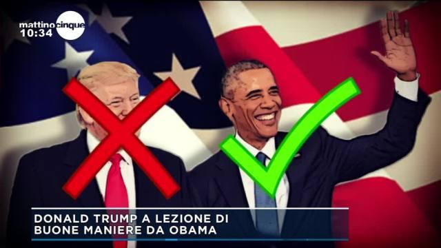 Tramp vs Obama